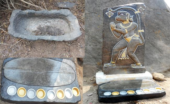 Historical landmarks Found In Kondaveedu Hills In Guntur - Sakshi