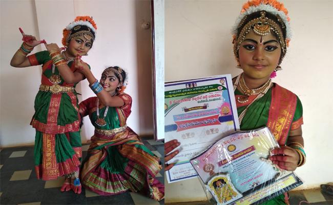 3Years Old Asinichandar Is Doing Good Performance At Kuchipudi In Visakhapatnam - Sakshi