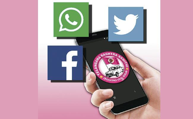 TRS to set up special social media team - Sakshi