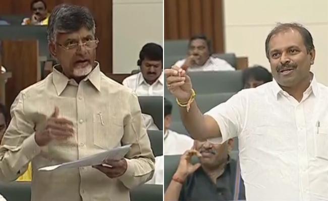 AP Chief Whip Gadikota Srikanth Reddy Slams Chandrababu Naidu - Sakshi