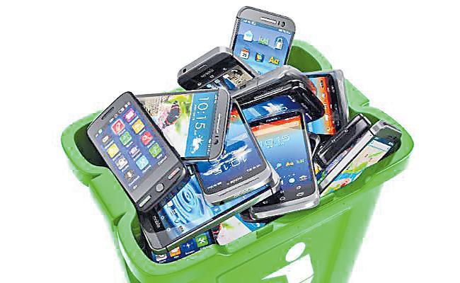 Hyderabad People Negligence on Smartphones Recycling - Sakshi