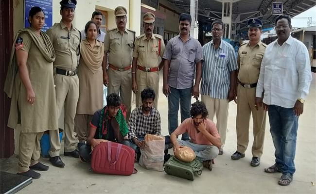 Police Seized Canja Transportation In West Godavari - Sakshi
