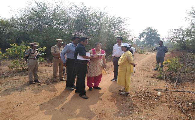 Rampur Villagers Agreed For The Resettlement Of Village In Nirmal Distrrict - Sakshi