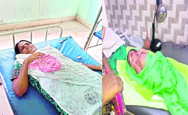 A Mother Left Her Newborn Daughter In korutla - Sakshi