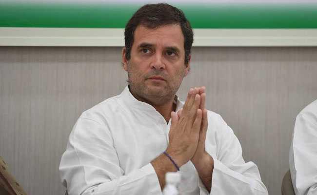 Rahul Gandhi Says BJP Uses Money To Bring Down State Govts - Sakshi