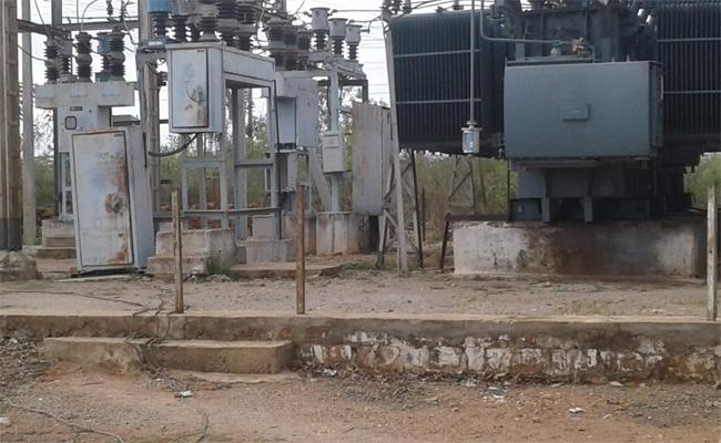 Watchmen is Doing his Duty with Someone Else at the Power Sub Station - Sakshi