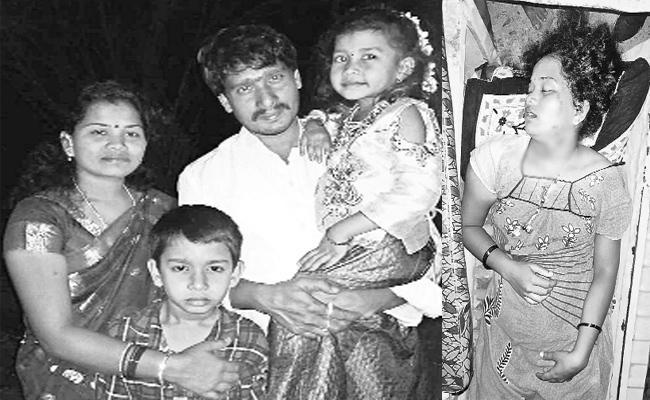 Wife Brutally Murdered By Husband In Visakhapatnam - Sakshi