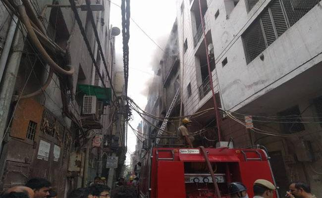 Fire Accident in Jhilmil Industrial Area, 5 Dead - Sakshi