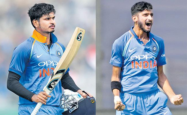 Shreyas Iyer and Khaleel Star For India A In First ODI - Sakshi
