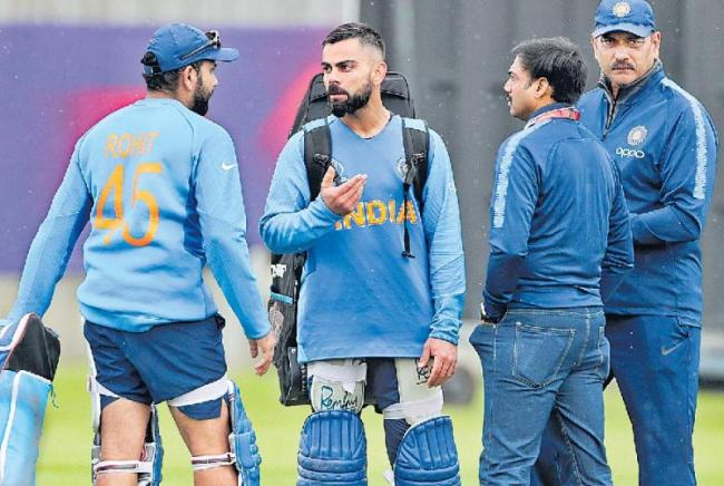 CoA to have World Cup review meeting with Virat Kohli and Ravi Shastri - Sakshi