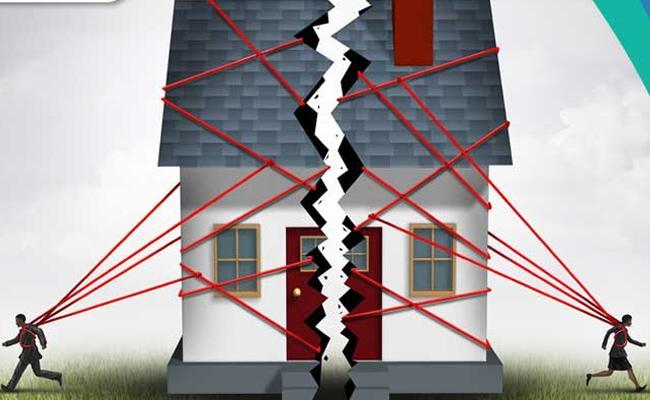 Property Fight Between Brothers In Mandasa - Sakshi