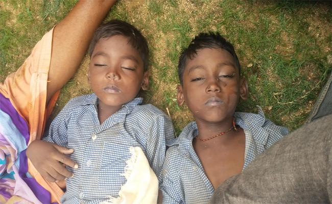 Brothers Died By Fell Down In Well In Warangal  - Sakshi