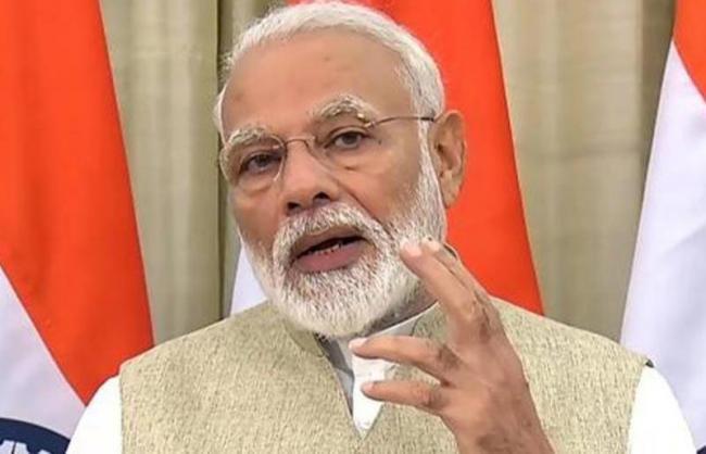 PM Modi Meets BJP Women MPs - Sakshi