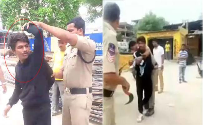 Ex Husband Tries To Kill Woman At Rajendra Nagar In Hyderabad - Sakshi