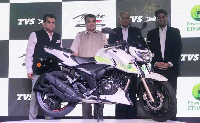 TVS Motor Launch New Apache - Sakshi