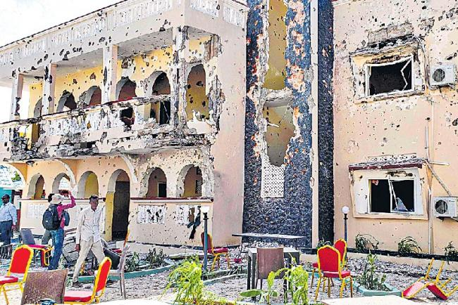 Terrorist attacks in somalia - Sakshi