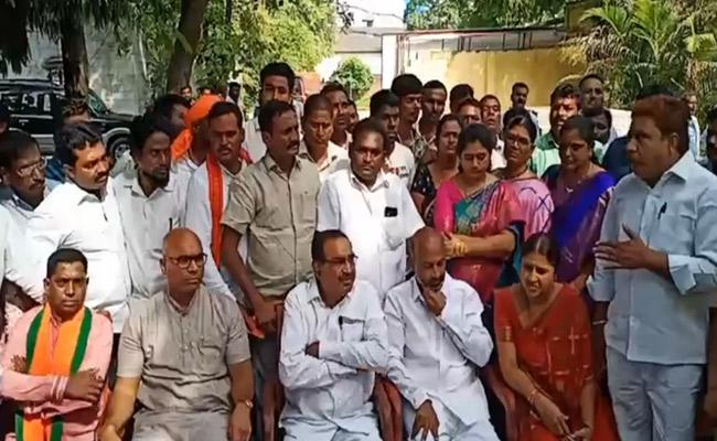 Somarapu Satyanarayana Ready To Joins In BJP - Sakshi
