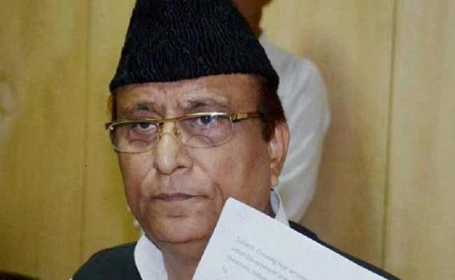 SP MP Azam Khan Name In Land Mafia Website In UP - Sakshi