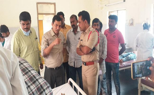 Sickness Of 62 students For Eating Poison Food In AP Tribal Welfare Hostel Rayachoti - Sakshi
