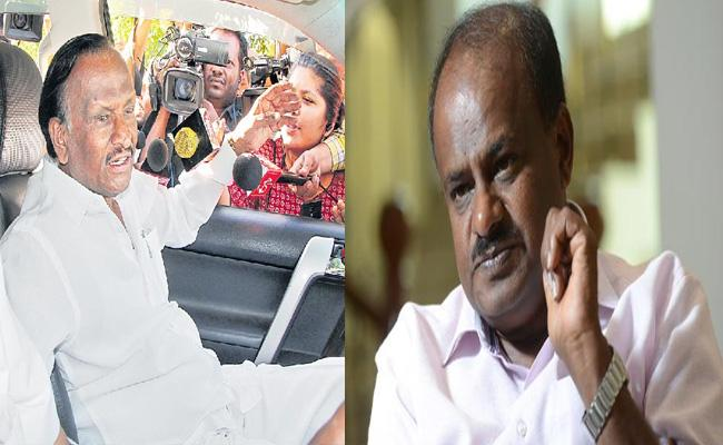 Congress Rebel MLA Nagaraj Would Take U Turn Over Support Government - Sakshi