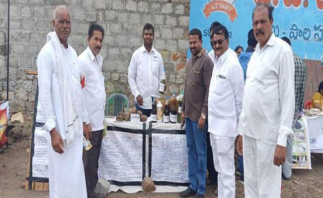 Assistant Professer Shifted To Organic Farming In Miryalaguda - Sakshi