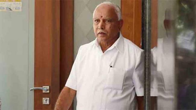Yeddyurappa Says Kumaraswamy Should Face Trust Vote Or Resign - Sakshi