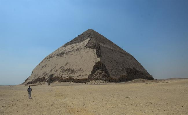 Egypt Opens 'Bent Pyramid' for 1st Time in Decades - Sakshi