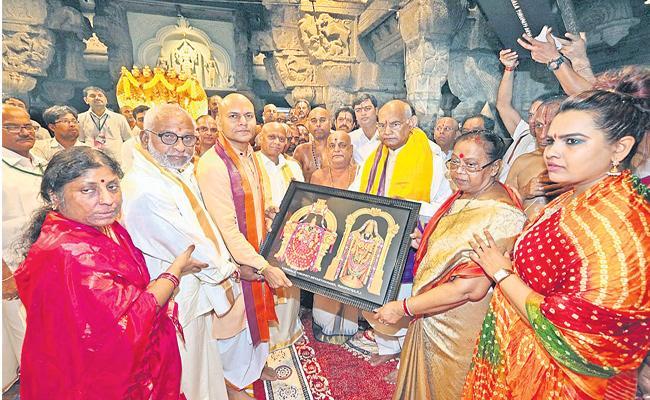 President Ram Nath Kovind Visited  Tirumala In AP For Worship - Sakshi