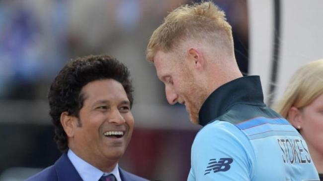 Fans Fume After Cheekily Compares Sachin With Stokes - Sakshi