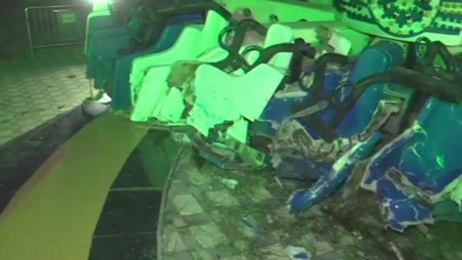Ahmedabad 2 killed, 26 injured after joyride with crashes at adventure park - Sakshi