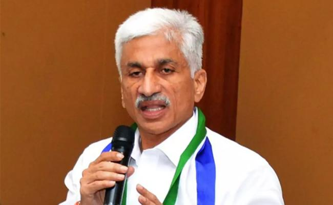 YSRCP MP Vijay Sai Reddy Comments On Chandrababu Naidu In Twitter - Sakshi