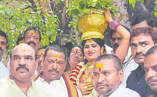 Mahankali Bonalu To Vijayawada Durgamma - Sakshi