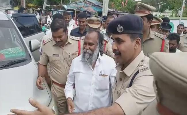 Sangareddy MLA Jagga Reddy Arrested - Sakshi