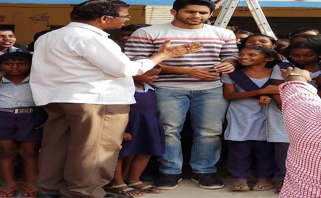 Naga chaithanya Came On Shooting To Nalgonda - Sakshi