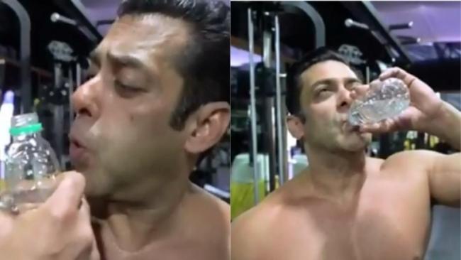 Bottle Cap Challenge Salman Khan Says Donot Thakao Paani Bachao - Sakshi