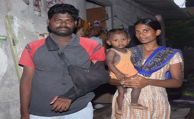Man From Tenali Sees His Name On Death List & Not Eligible For Aarogyasri - Sakshi