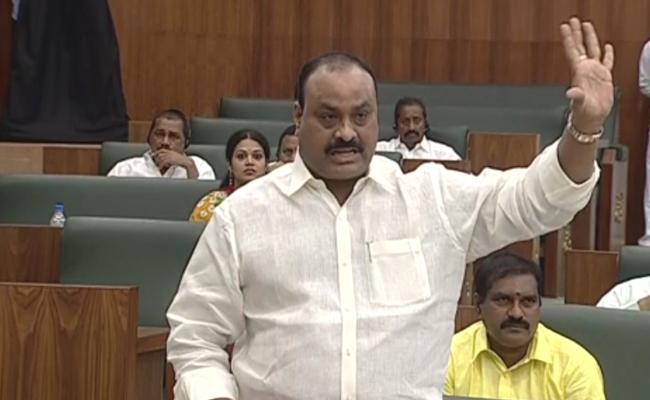 TDP MLAs Trying To Disturbing AP Assembly - Sakshi