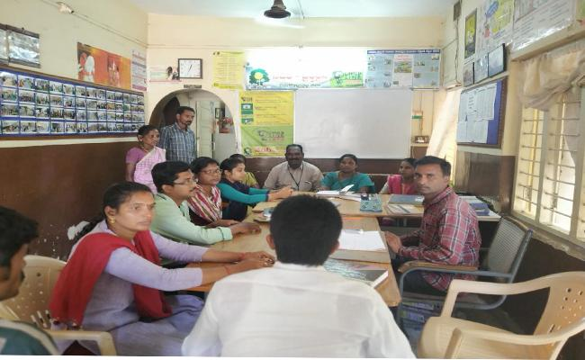 Child Helpline Centre Giving Counselling To Children In Vizianagaram - Sakshi