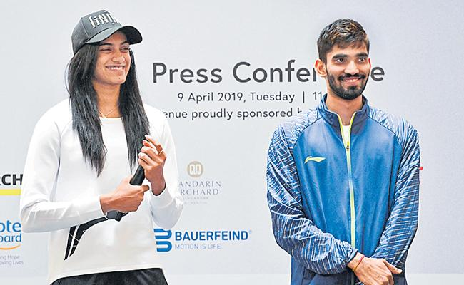 PV Sindhu And Srikanth Kidambi looks to end title drought - Sakshi