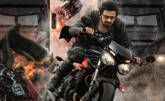 An 8 Minute Long Action Sequence in Saaho Cost 70 Crore - Sakshi