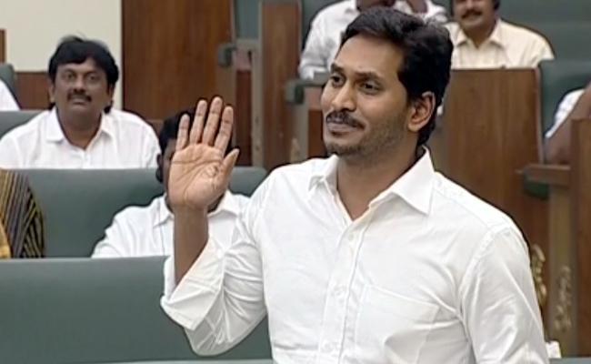 CM YS Jagan Clarify On Kapu Reservation In Assembly - Sakshi