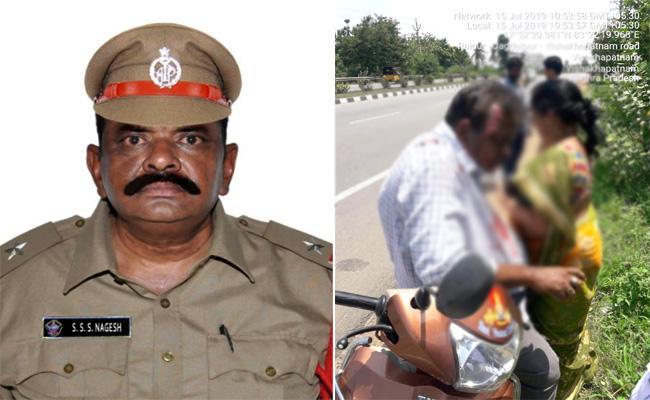 ASI Died in Bike Accident Visakhapatnam - Sakshi