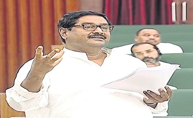 YSR Welfare Budget Said By Dharmana Prasada Rao In Assembly - Sakshi