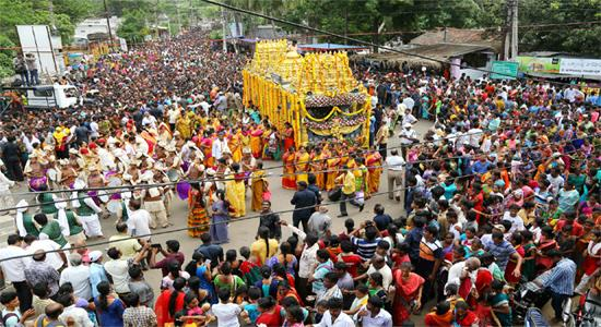 Celebrations Started In Simhachalam Temple At Visakhapatnam  - Sakshi