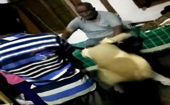 Tribal Welfare School HM Thrashes Students In East Godavari - Sakshi