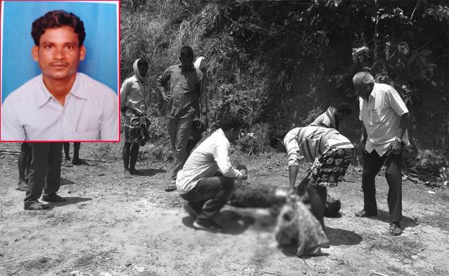 Man Killed With Black Magic Allegiance in Visakhapatnam - Sakshi