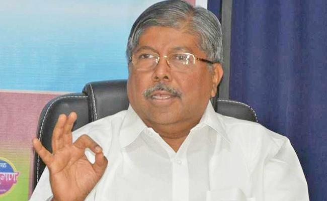 BJP Appoints Minister Chandrakant Patil New State Chief - Sakshi