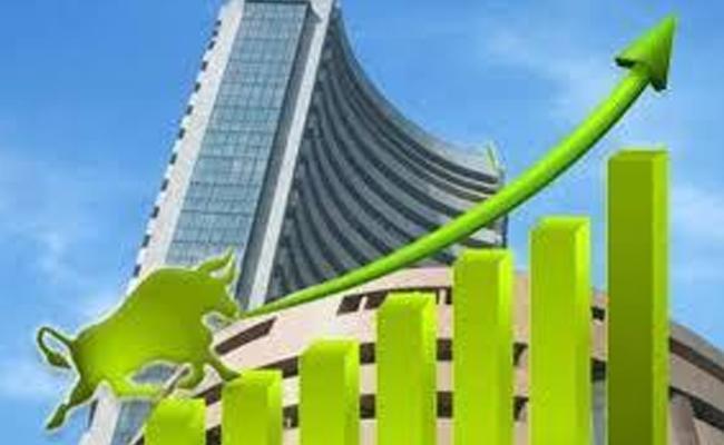 Sensex Gains Over 150 Points Nifty Crosses 11 600 Mark - Sakshi