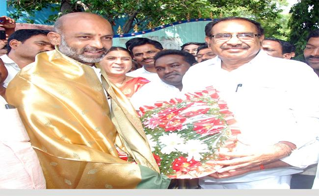 somarapu Satyanarayana Jions In BJP - Sakshi