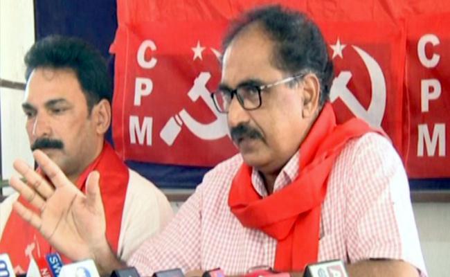 Only CPM Can Beat BJP In State Said Thammineni In Karimnagar - Sakshi